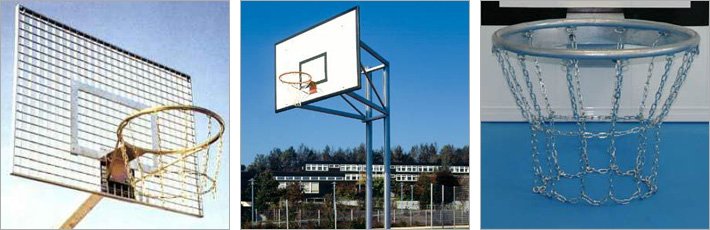 Basketballanlage